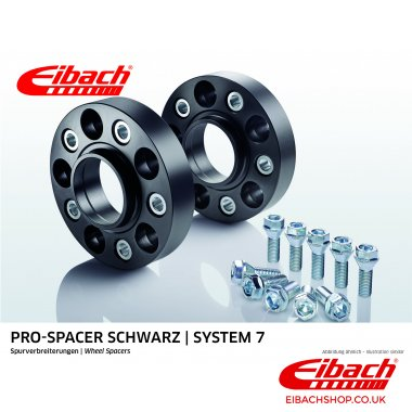 Eibach Pro-Spacer Kit (Pair Of Spacers) 20mm Per Spacer Black