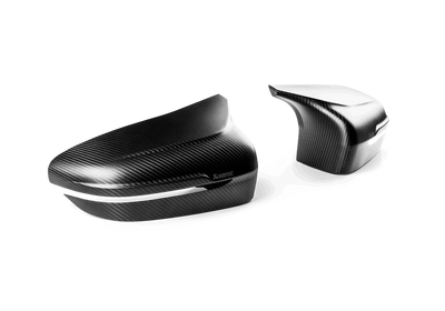 AKRAPOVIC BMW M5 (F90) HIGH GLOSS CARBON FIBER MIRROR CAP SET