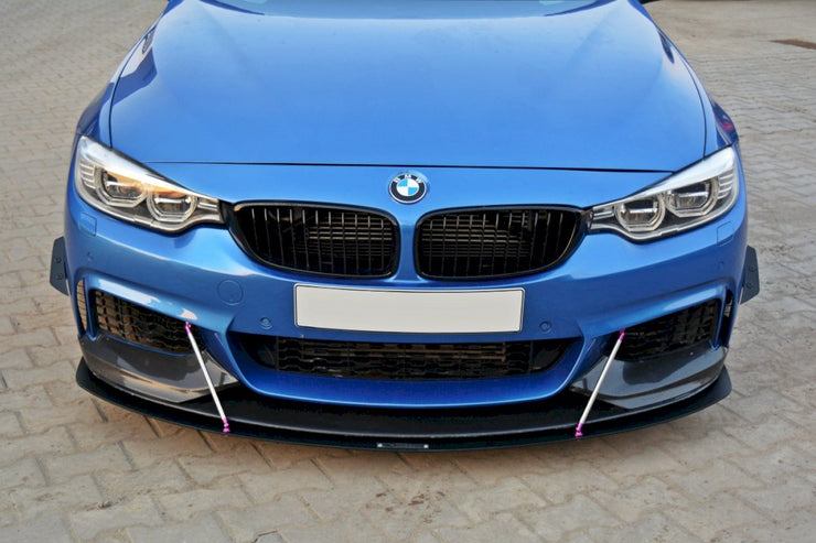Maxton Design Front Racing Splitter V.3 | BMW 4 F32 M-SPORT (2013-2016)