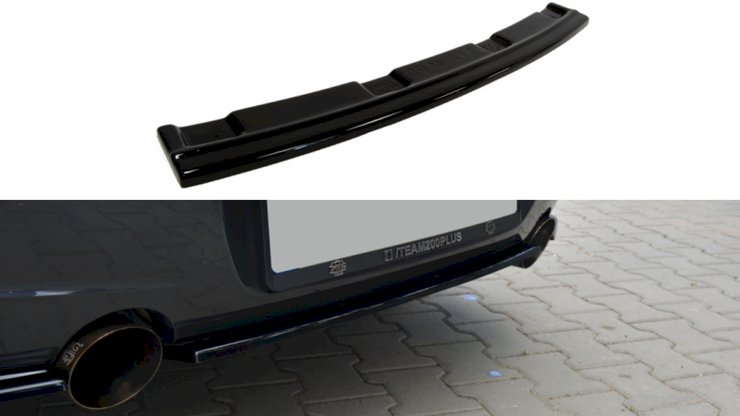 Maxton Design | CENTRAL REAR SPLITTER BMW 1 F20/F21 M-POWER (WITHOUT VERTICAL BARS)