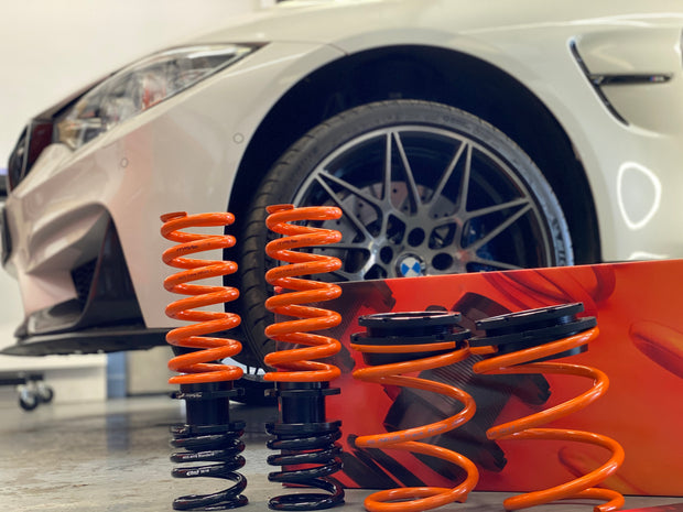MSS Adjustable Lowering Springs | BMW M2, M3, M4
