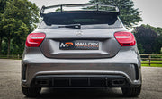 Gloss Black Rear Diffuser & Exhaust Tips | Mercedes A Class AMG W176