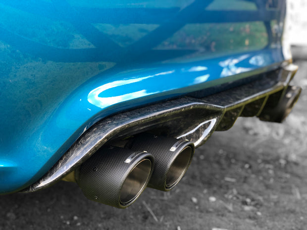 MP Forged Carbon Rear Diffuser | BMW M2 Competition
