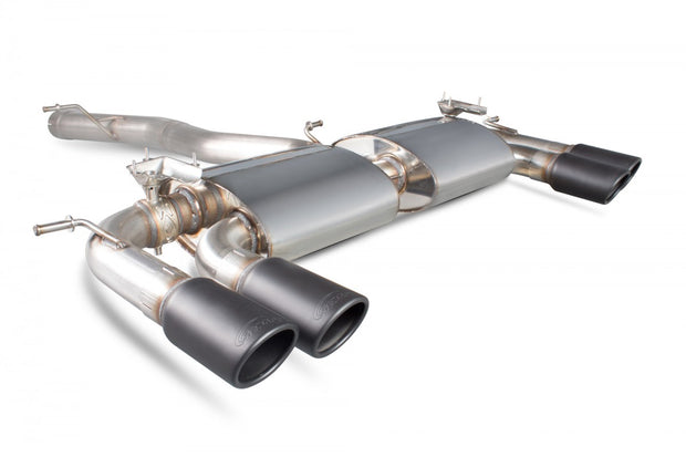 Scorpion Non Res Cat Back Exhaust (Valved) | VW Golf R MK7