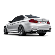 AKRAPOVIC BMW M3 EVOLUTION LINK PIPE SET (TITANIUM) (F80) 2014+