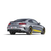 AKRAPOVIČ EVOLUTION LINE (TITANIUM) + EVOLUTION LINK PIPE SET - MERCEDES AMG C63 COUPÉ (C205) 2016+
