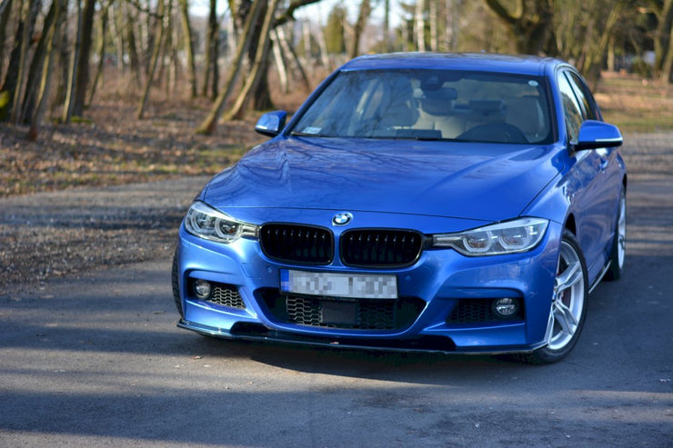 Maxton Design Front Racing Splitter | BMW 3-SERIES F30 FACELIFT SEDAN M-SPORT (2015-2018)