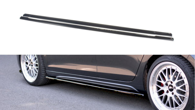 Maxton Design Side Skirts Diffusers | VW Golf GTI MK6