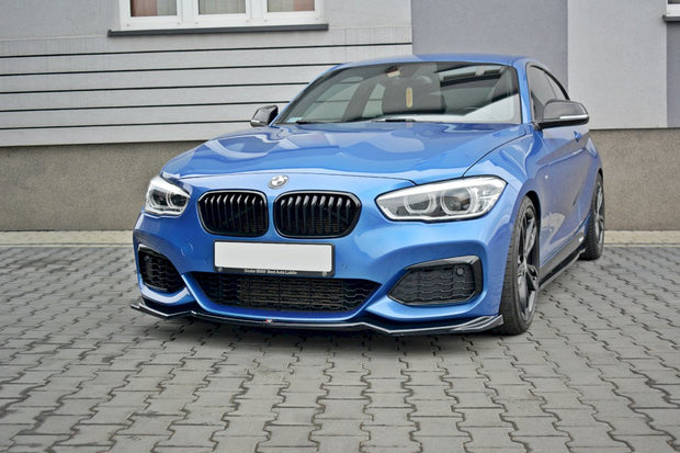 Maxton Design | FRONT SPLITTER V.2 BMW 1 F20/F21 M-POWER FACELIFT (2015-19)