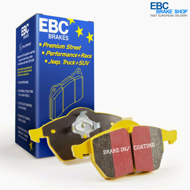 EBC Yellowstuff Pad and Line Performance Pack