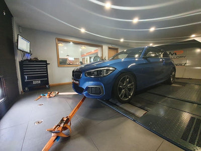 BMW M140i 240i F2x - Custom Remap on our Dyno