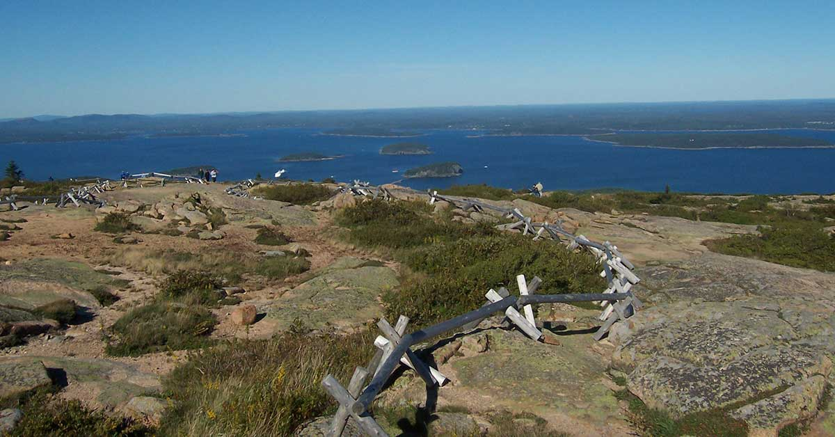 Cadillac Mountain, Acadia National Park | National Park Gear