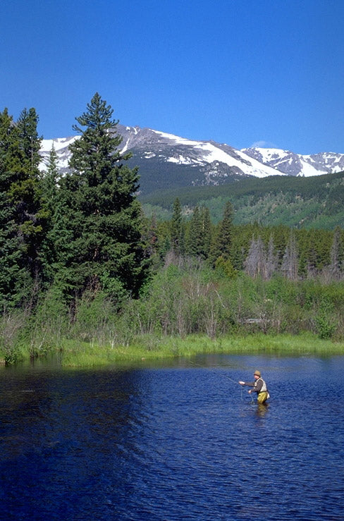 Fishing, Lilly Lake, Rocky Mountain National Park | National Park Gear
