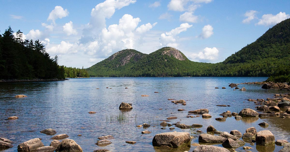 Jordan Pond, Acadia National Park | National Park Gear