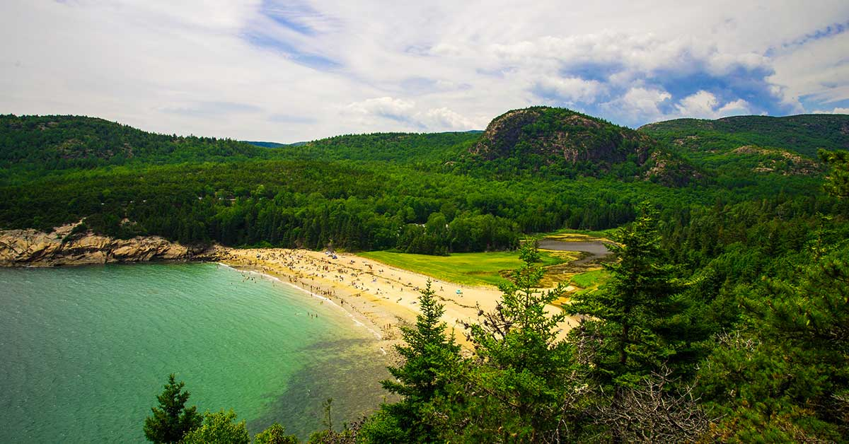 Sand Beach, Acadia National Park | National Park Gear