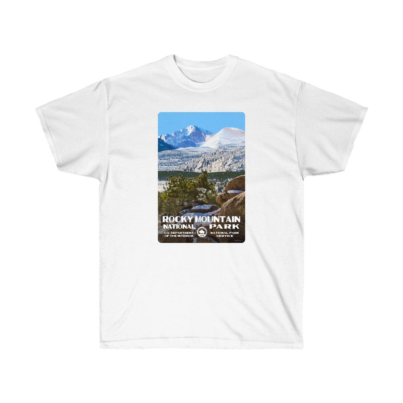 Rocky Mountain National Park (Longs Peak) Men's T-Shirt