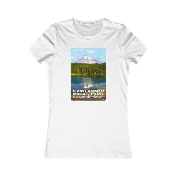Mount Rainier National Park Women's T-Shirt