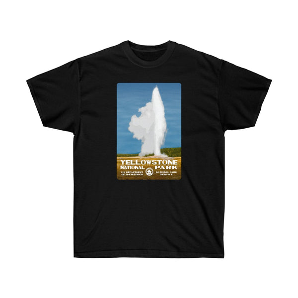Yellowstone National Park (Old Faithful) Men's T-Shirt