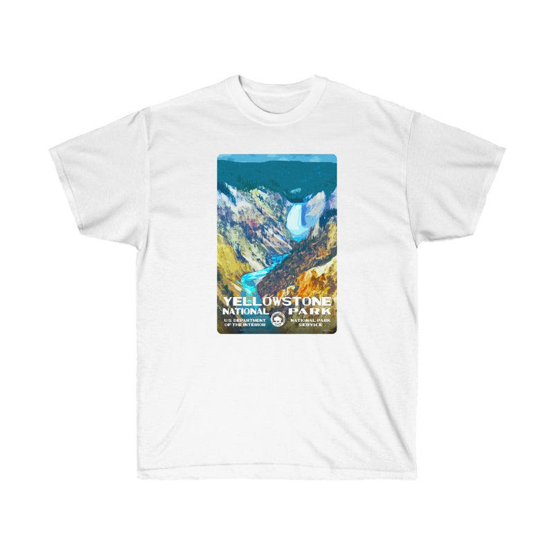 Yellowstone National Park (Lower Falls) Men's T-Shirt