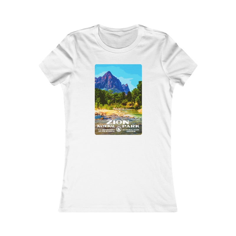 Zion National Park (The Watchman) Women's T-Shirt
