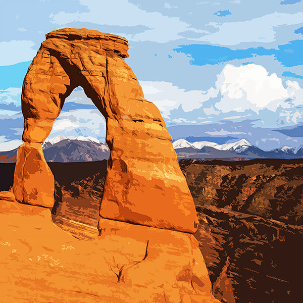 Arches National Park Neck Gaiter