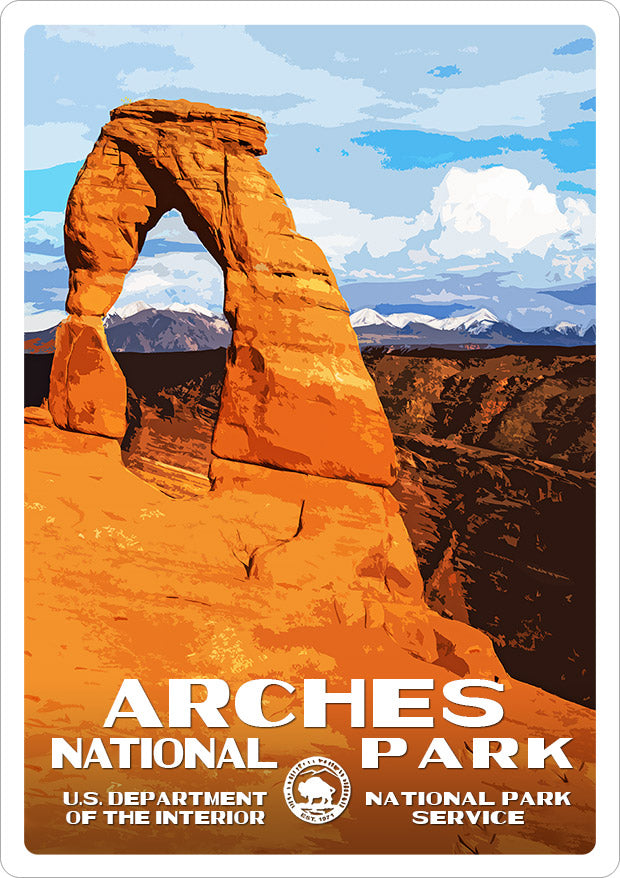 Arches National Park Sticker