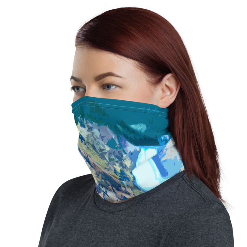 Yellowstone National Park (Lower Falls) Neck Gaiter
