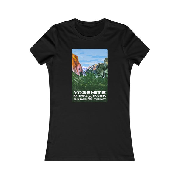 Yosemite National Park Women's T-Shirt