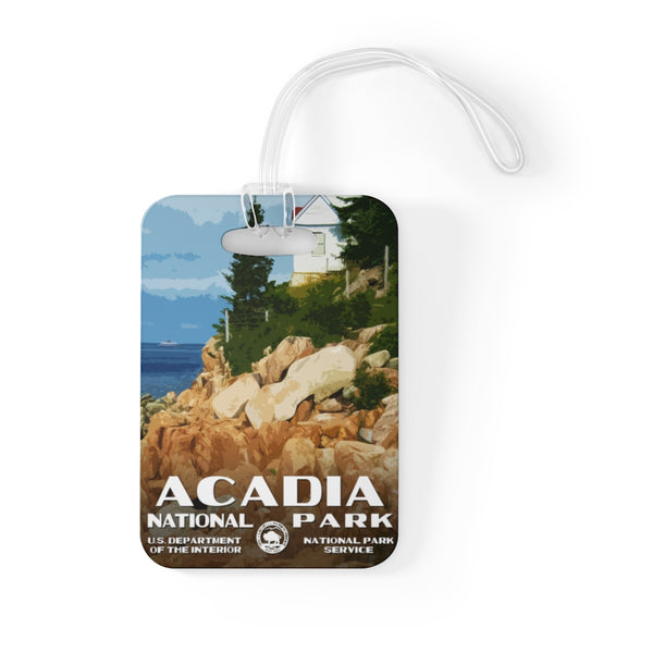Acadia National Park Luggage Tag