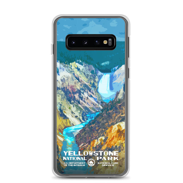 Yellowstone National Park (Lower Falls) Samsung Case