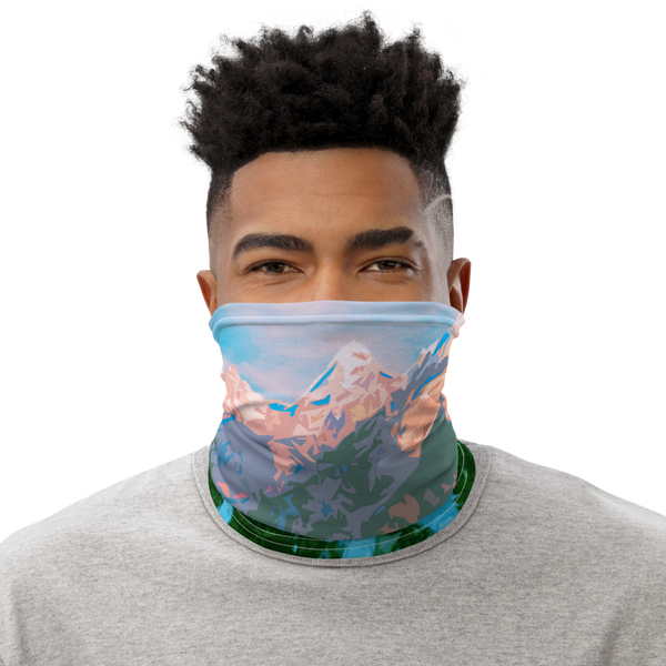 Grand Teton National Park Neck Gaiter