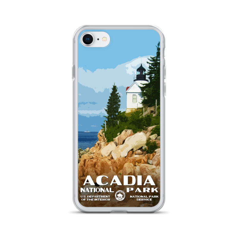 Acadia National Park iPhone Case