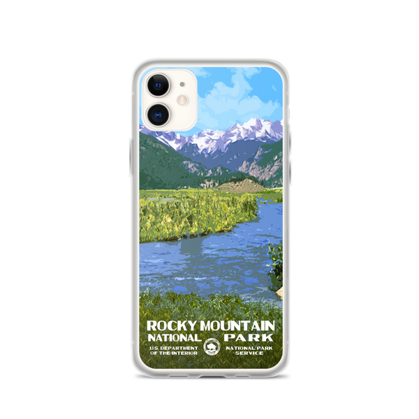 Rocky Mountain National Park (Moraine Park) iPhone Case