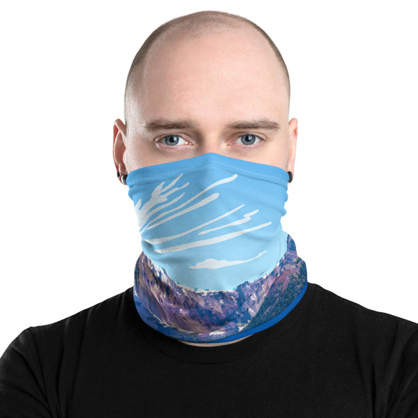 Crater Lake National Park Neck Gaiter