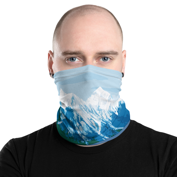 Glacier National Park Neck Gaiter