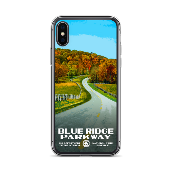 Blue Ridge Parkway iPhone Case