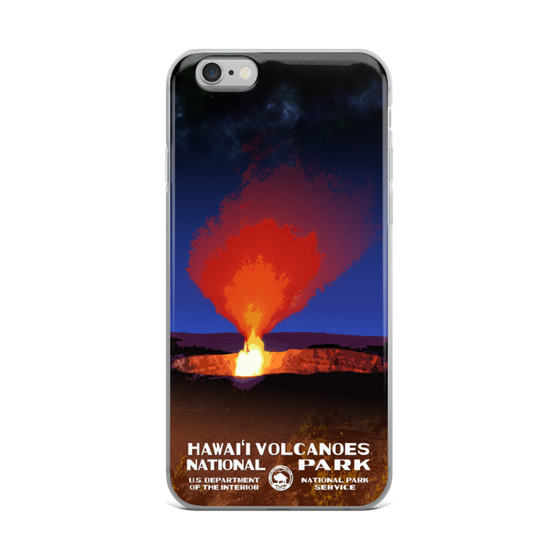 Hawaii Volcanoes National Park iPhone Case