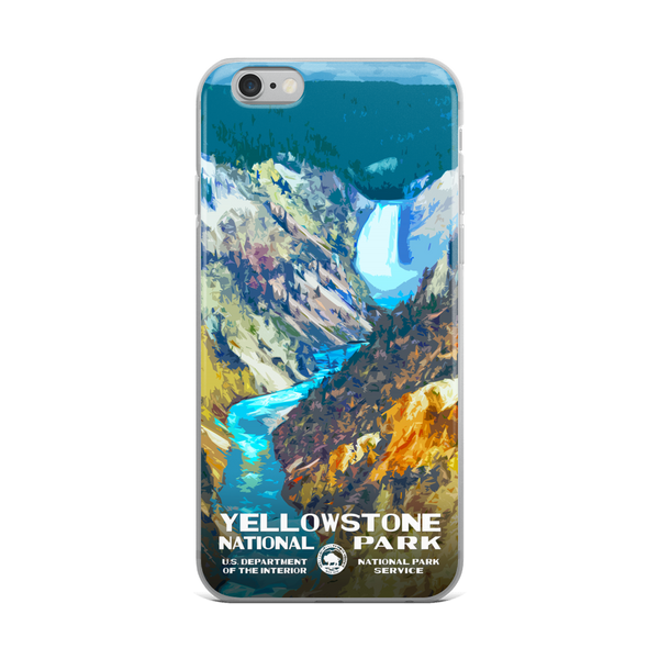 Yellowstone National Park (Lower Falls) iPhone Case