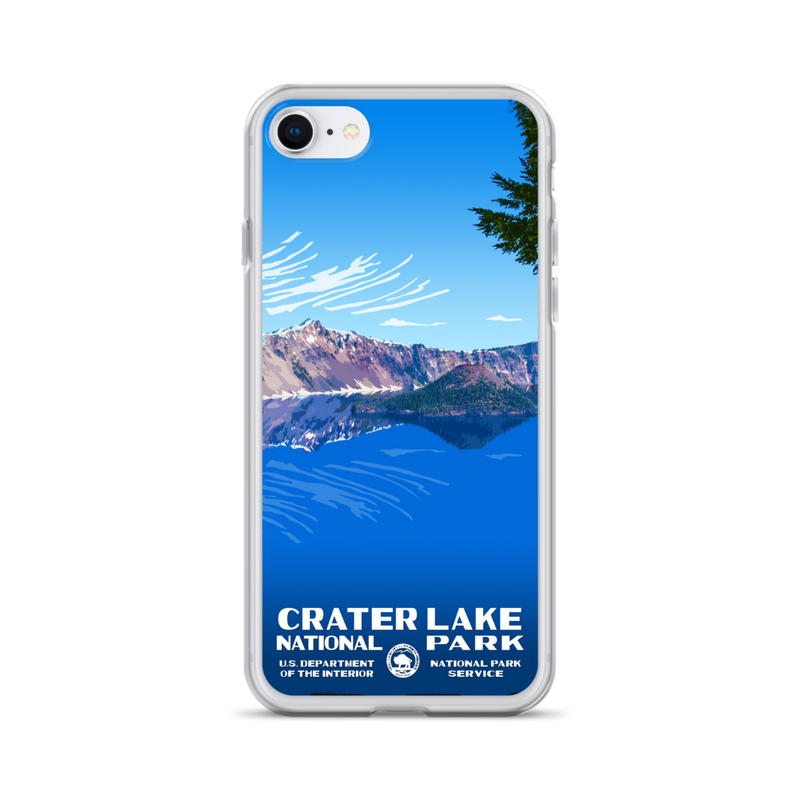 Crater Lake National Park iPhone Case