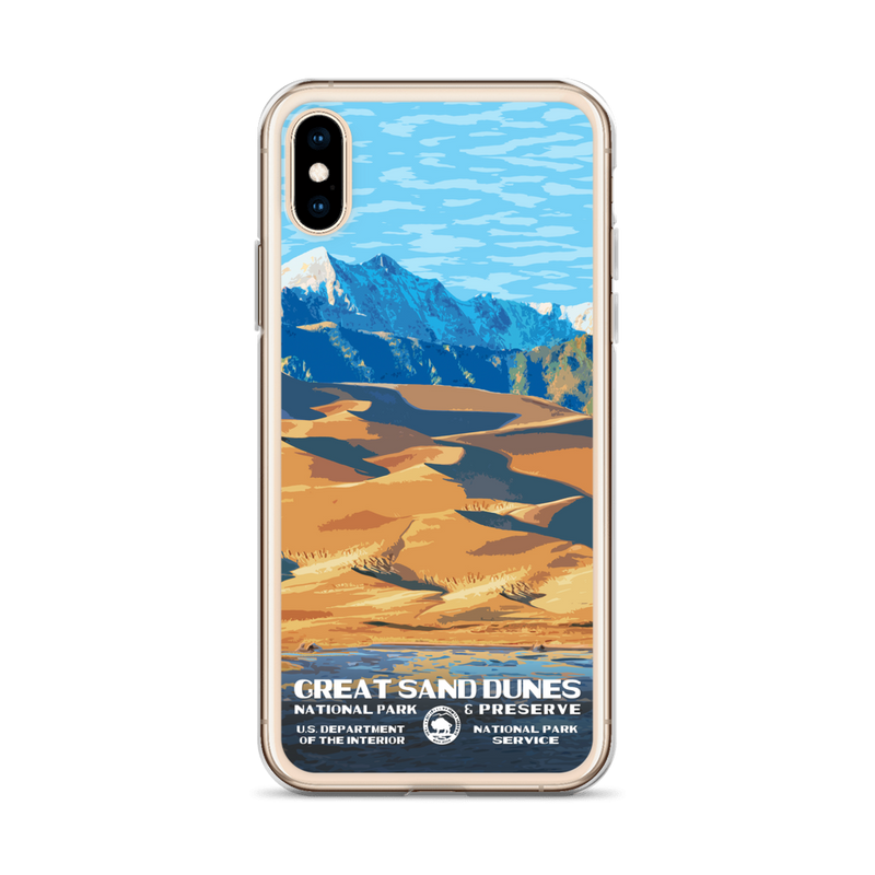 Great Sand Dunes National Park iPhone Case