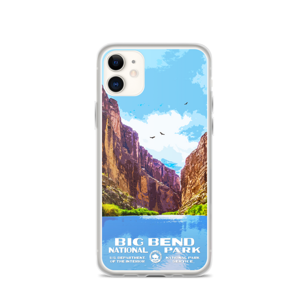 Big Bend National Park iPhone Case