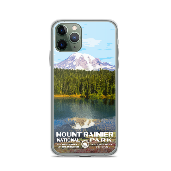Mount Rainier National Park iPhone Case