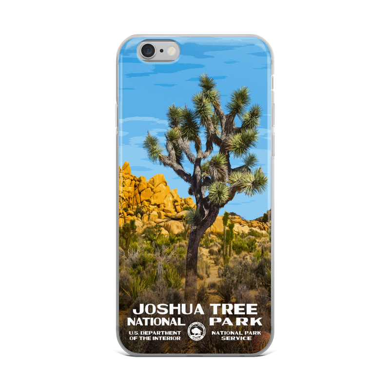 Joshua Tree National Park iPhone Case