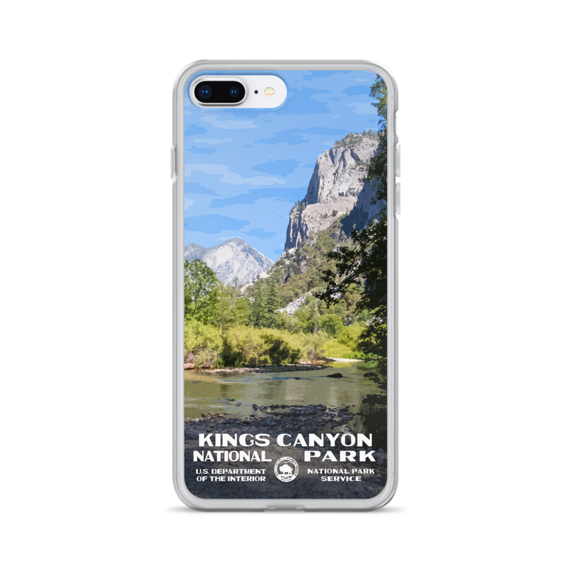 Kings Canyon National Park iPhone Case