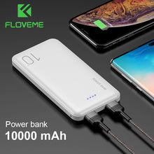 Load image into Gallery viewer, FLOVEME Power Bank 10000mAh Portable Charger For Samsung Xiaomi mi Mobile External Battery Powerbank 10000 mAh Poverbank Phone