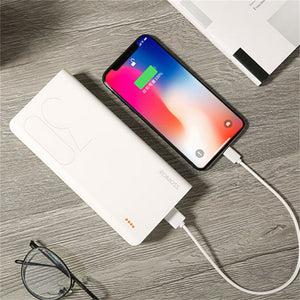 NEW ROMOSS 30000mAh  Fast Charge Power Bank For Mobile Phones Tablet PCs Powerbank For iphone 8 Plus For Xiaomi
