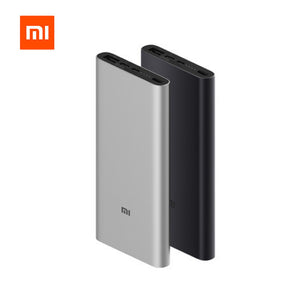 Xiaomi Mi 10000mAh Power Bank 3 18W MAX Quick Charge USB-C Dual Input Output PLM12ZM 10000 mAh Powerbank for Samsung iPhone