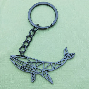 Happy Humpback Keychain