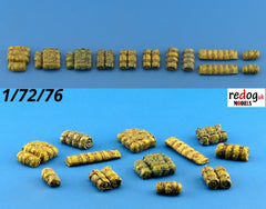1/72 Cargo Military Stowage Tents Rolls - Scale Modelling Kit Accessories 6 - redoguk