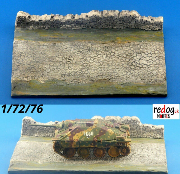 Redog 1/72 Diorama Display Base For Military Scale Model Vehicles /d6